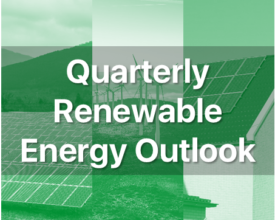 Quarterly Renewable Energy Outlook