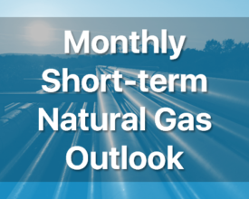 Monthly Short-term Natural Gas Outlook